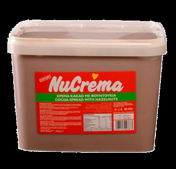 """NUCREMA IN PLASTIK 10k - نيو كريمة كريمة الكاكاو والبندق 10000  جرام """" بلاستيك """""""
