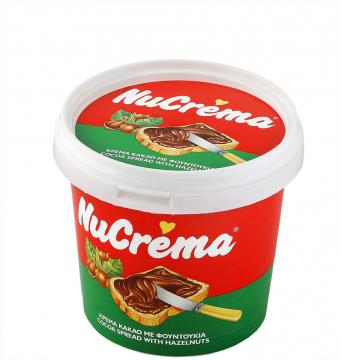 """NUCREMA PLASTIK  400g - نيو كريمة كريمة الكاكاو والبندق 400 جرام """" بلاستيك """""""