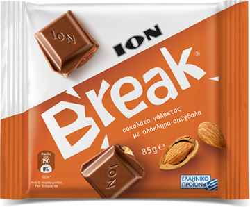 Break almonds 85g - شيكولاتة بريك باللوز