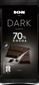 DARK CHOCOLATE 70% COCOA - شيكولاتة ايون دارك70% كاكاو 90جم