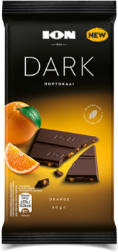 dark organic orange 90g - ِشيكولاتة أيون دارك بالبرتقال 90 جرام