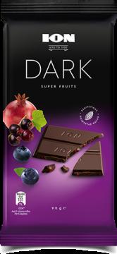 dark super fruit 90g - شيكولاتة ايون دارك فواكه90جم