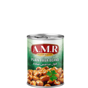 Canned Fava Beans 400g AMR -  فول مدمس