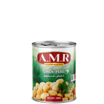 Canned Chick Peas 400g AMR - حمص مسلوق
