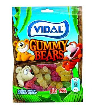Vidal Gummy Bears 100g -  فيدال جيلي شكل الدببة 100جم