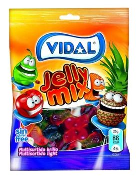 Vidal Jelly Mix 100g -  فيدال جيلي ميكس 100جم