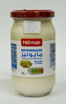 herman mayo 236ml - هيرمان مايونيز صغير 236مل