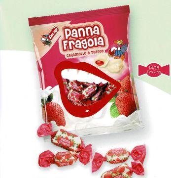 PANNA FRAGOLA (TOFFEE) 300g- حلوي طوفي بطعم الكريمة والفراولة 300 جم