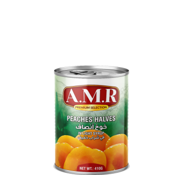 Canned Peach Halves 410g - خوخ أنصاف 410جم
