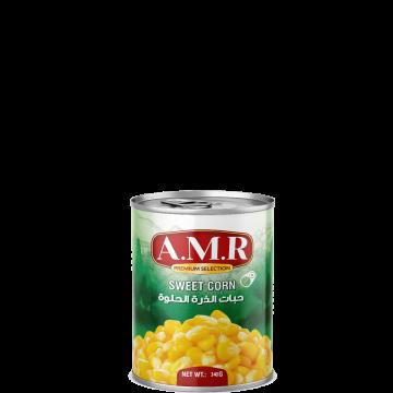 Canned Sweet Corn AMR 340g - حبات ذرة حلوة 340جم