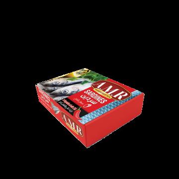 Canned Sardines Chili 125g AMR - سردين مغربي حار