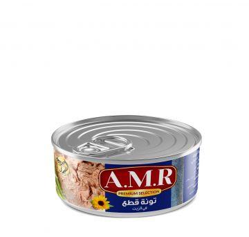 Canned Shunks Tuna 140g AMR - تونة قطع