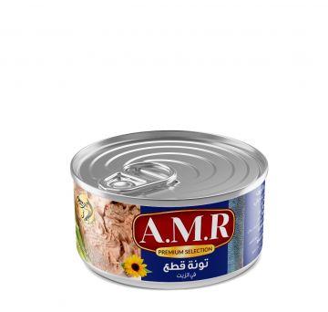 Canned Shunks Tuna 185g AMR - تونة قطع