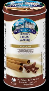 White Castle Luxury Cream Wafer With Chocolate Flavour 300g- تورتو ويفر بكريمة الشيكولاتة