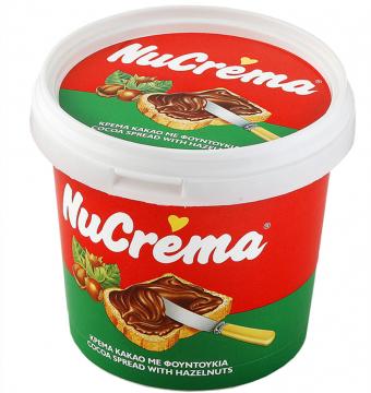 """NUCREMA PLASTIK 1kg - نيو كريمة كريمة الكاكاو والبندق 1000 جرام """" بلاستيك """""""