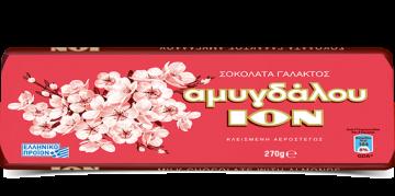 ION ALMONDS CHOCOLATE  270g - شيكولاتة ايون باللوز 270 جرام