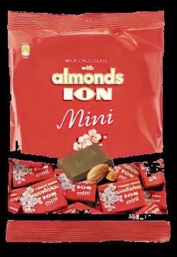 Mini Choco & Almonds 400 g - شيكولاتة أيون أكياس باللوز