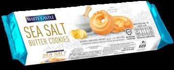 White Castle Sea Salt Butter Cookies140g- وايت كاسل مملح بالزبدة