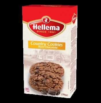 country cookies rich chocolate 150g- بسكويت هولندى كانترى 150 جرام *12 باكو بالشيكولاتة