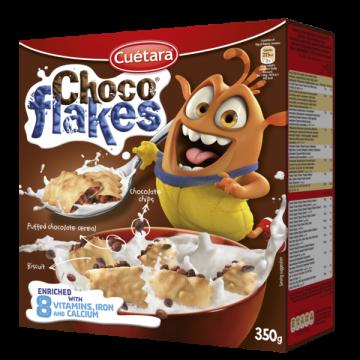 Cuetara Choco Flakes350g - كواتر شوكو فليكس 350 جرام *10