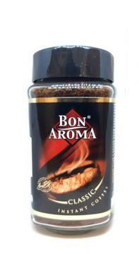 Instant coffee bon aroma classic 200g - انستانت كوفي كلاسيك 200جم*12 بون اروما