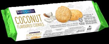 White Castle Coconut Cookies140g- وايت كاسل بجوز الهند