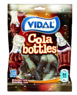 Vidal Cola Bottles 100g -  فيدال جيلي كولا 100جم