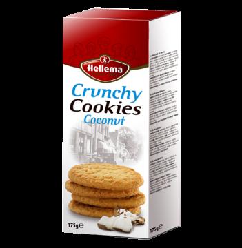 Crunchy Coconut  175g - بسكويت هولندى كرنشي 175 جرام *12 باكو جوز هند