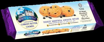 White Castle Currant Butter Cookies 160g- وايت كاسل كوكيز زبدة الكشمش