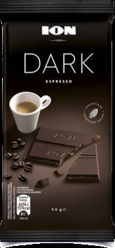 dark espresso 90g - شيكولاتة ايون دارك اسبرسو90جم