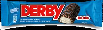 Dark Derby with crisp rice and coconut filling 38g - ديربي شيكولاتة  دارك حشو كريمه جوزالهند38جم