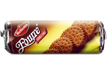 fourre double choco flavor 300g - بسكويت هولندى هيلما فوريه 300جرام دبل شوكو