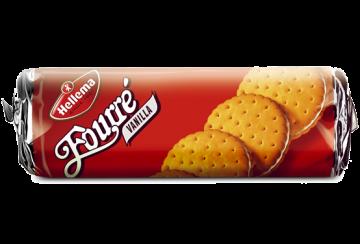 fourre vanilla flavour 300g - بسكويت هولندى هيلما فوريه 300جرام *20 باكو فانليا