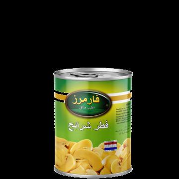 Canned Sliced Mushrooms Farmers 400g - مشروم شرايح 400جم