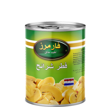 Canned Sliced Mushrooms Farmers 850g - مشروم شرايح 850جم