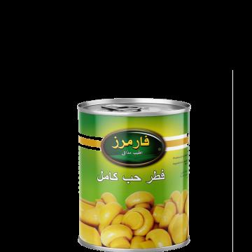 Canned Whole Mushrooms Farmers 400g - مشروم حب كامل 400جم