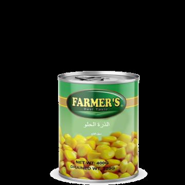 Canned Sweet Corn FARMERS 400g - الذرة الحلو فارمرز 400جم
