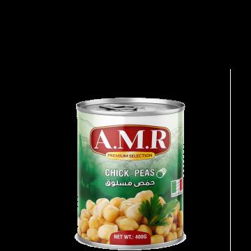 Canned Chick Peas 400g AMR - حمص مسلوق