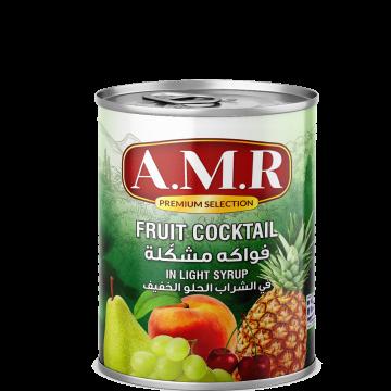 Canned Fruit Cocktail AMR 820g - كمبوت فواكه مشكلة 820جم