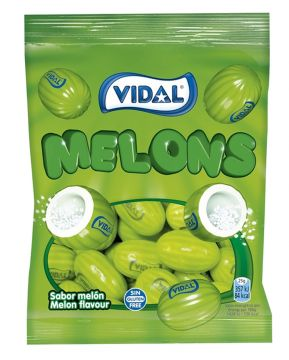 Vidal Melons 100g -  فيدال جيلي بالبطيخ 100جم