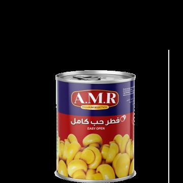 Canned Whole Mushrooms AMR 400g - مشروم حب كامل 400جم