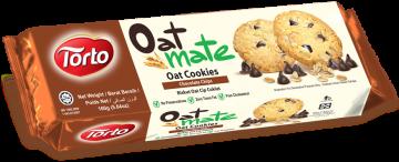 Oat Mate Chocolate Chips Oat Cookies 160g- شوفان كوكيز بالشوكولاتة