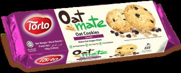 Oat Mate Currant Oat Cookies 160g- شوفان كوكيز كشمش
