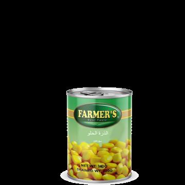 Canned Sweet Corn FARMERS 340g - الذرة الحلو فارمرز 340جم